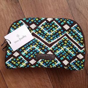 Vera Bradley Small Zip Cosmetic Bag Rain Forest